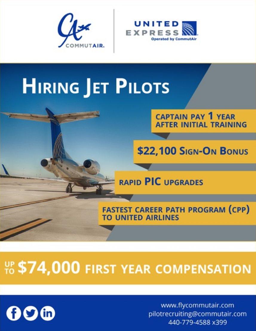 Hiring Jet Pilots